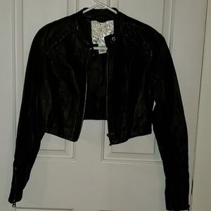 💚 Arden B. Faux Leather Jacket